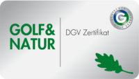 DGV Zertifikat Golf & Natur