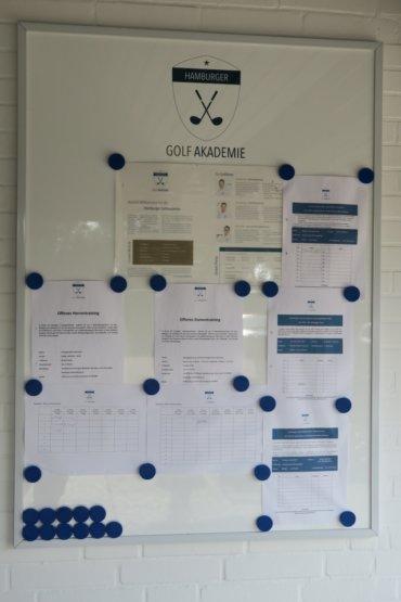 neues Infoboard der HGA