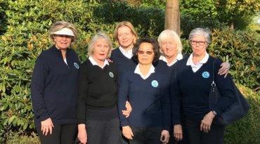 Ligasaison der AK 65 Damen