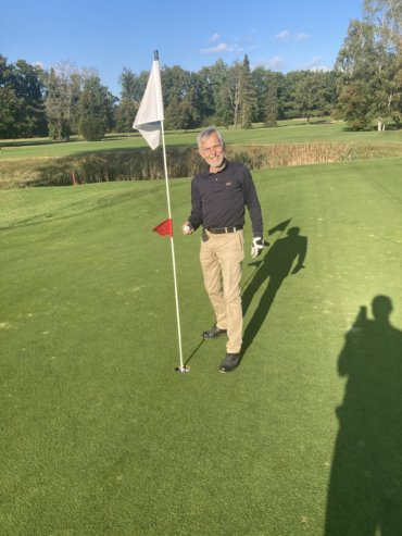 Hole in One beim Herrennachmittag