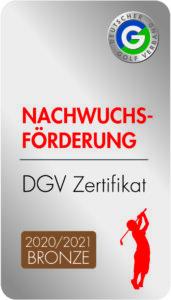 DGV Nachwuchsfoerderung Bronze