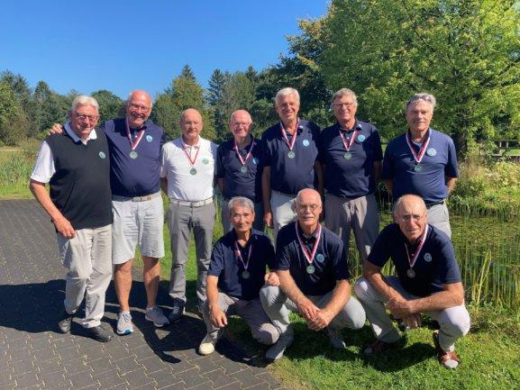Bronze für AK 65 Herren