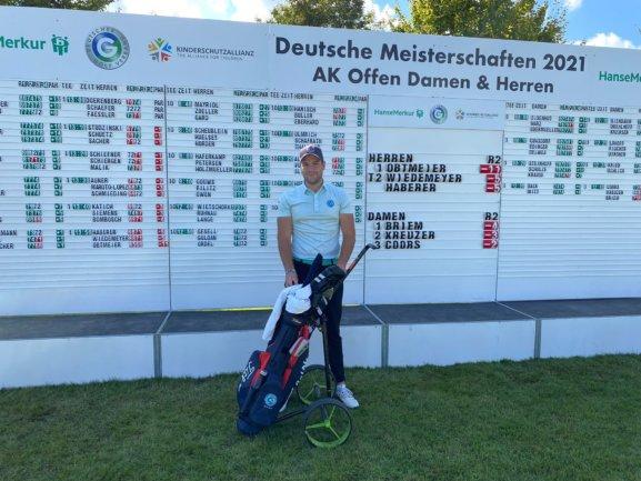Jan Holzmüller auf Platz 60. bei Deutschen Meisterschaften